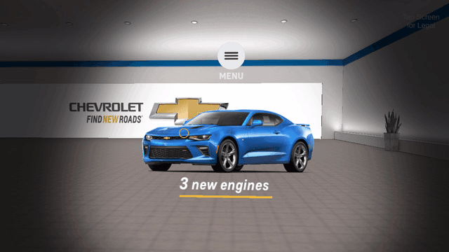 Chevy VR Showroom3