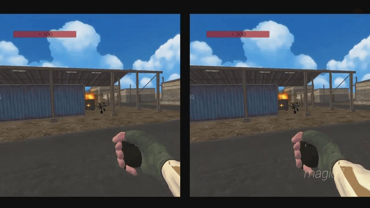Gunfight Simulator VR5