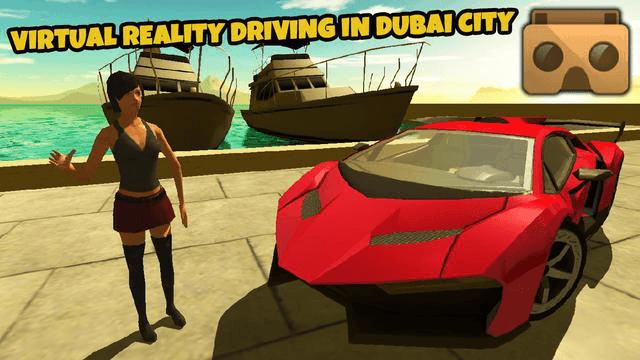 VR Car Driving Simulator VR Game for Google Cardboard or Gear VR
