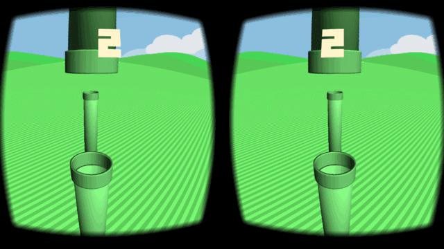 VR Flappy for Google Cardboard2