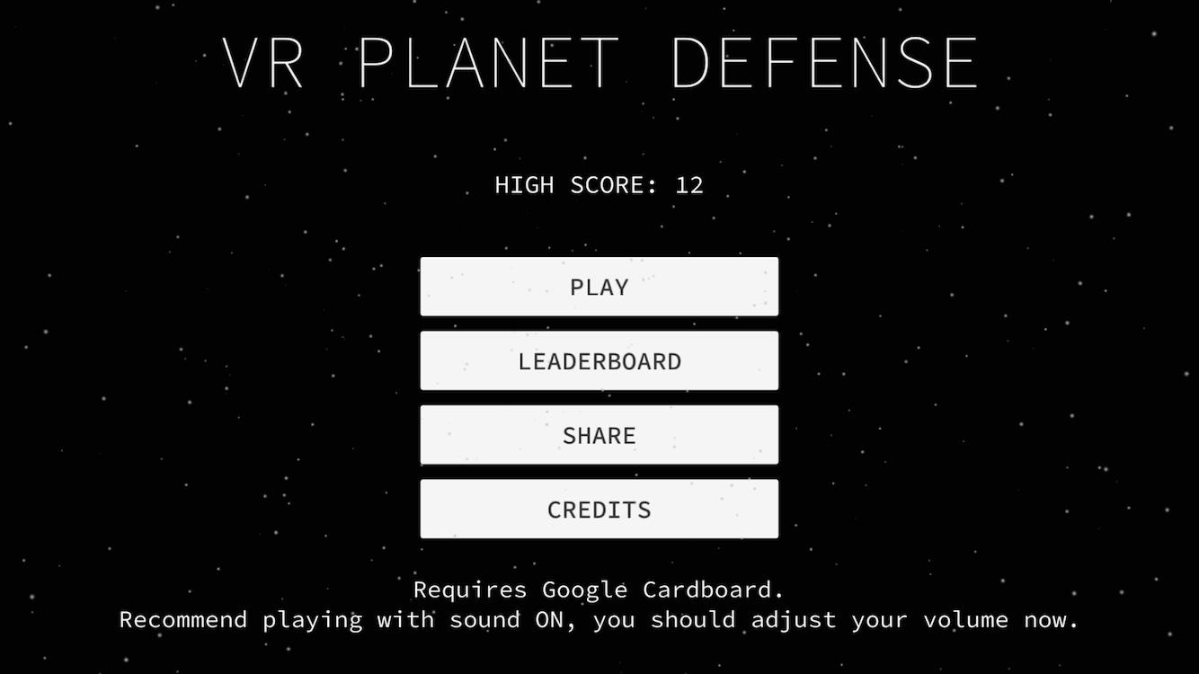 VR Planet for Cardboard4