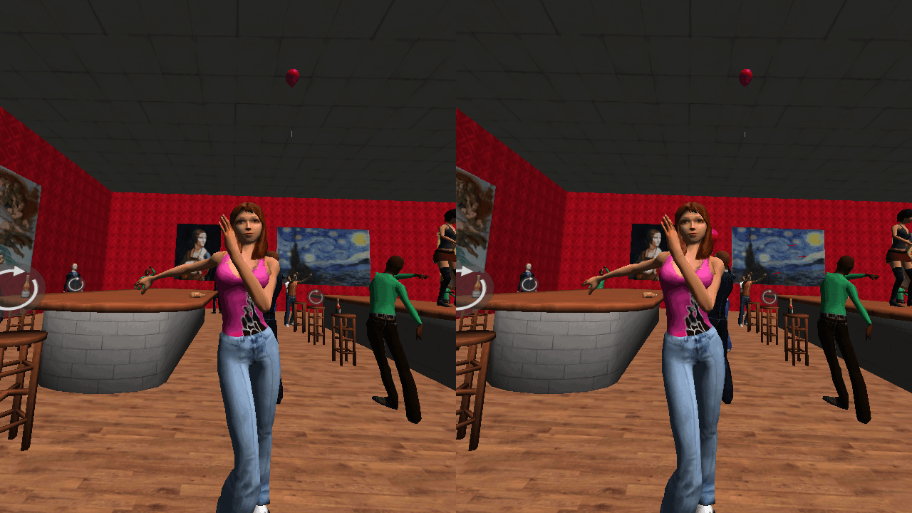 VR Table Dance Party