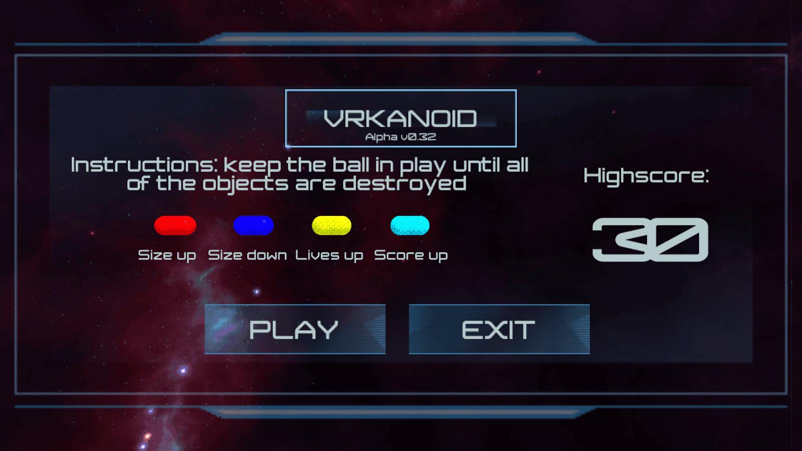 VRkanoid VR5