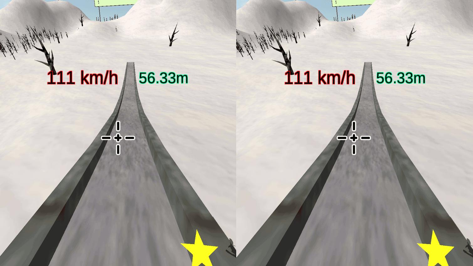 VR SkiJump,cardboard