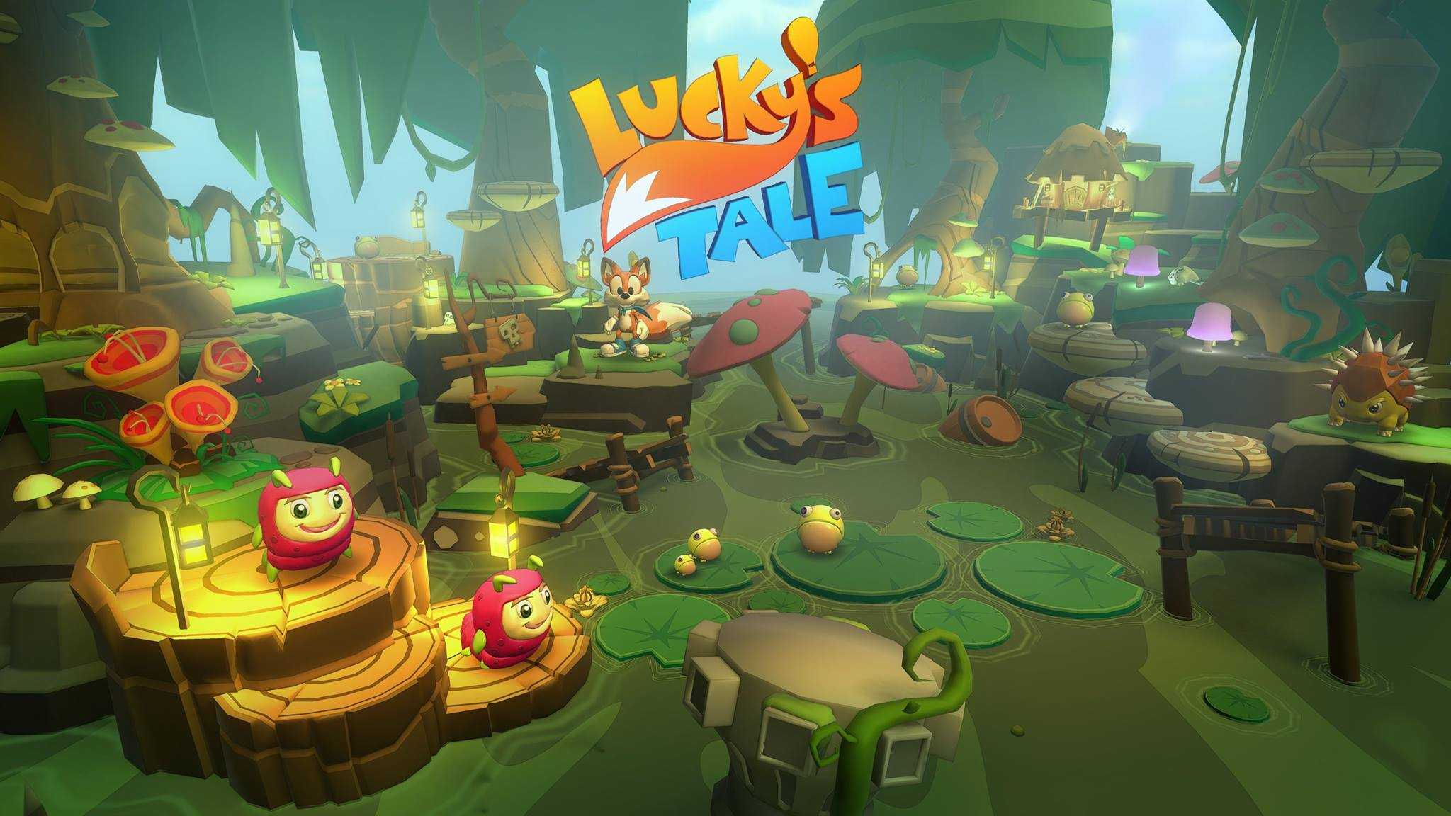 New screens from Lucky's Tale