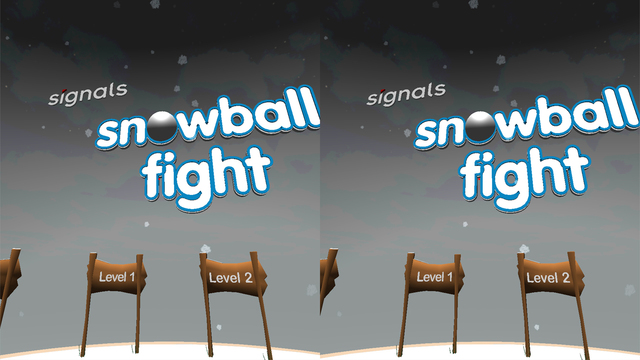 Signals Snowball Fight