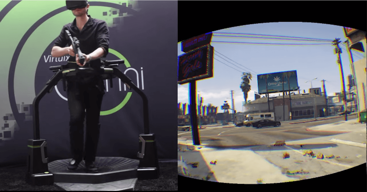 Control GTA V with an Omni and the Oculus Rift – VR Bites