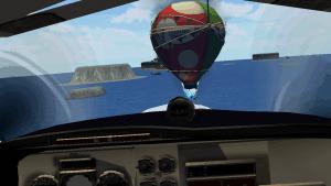 VR Airplane Flight Simulation2