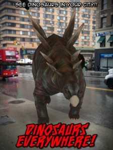 Dinosaurs Everywhere!