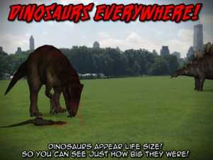 Dinosaurs Everywhere! 3