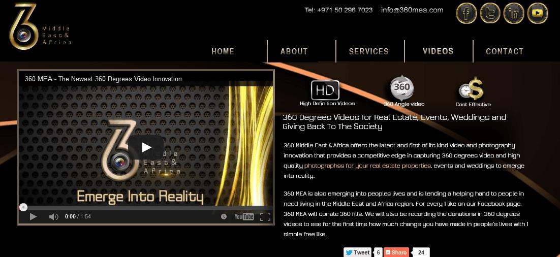 360 MEA – 360° VideoVR Player