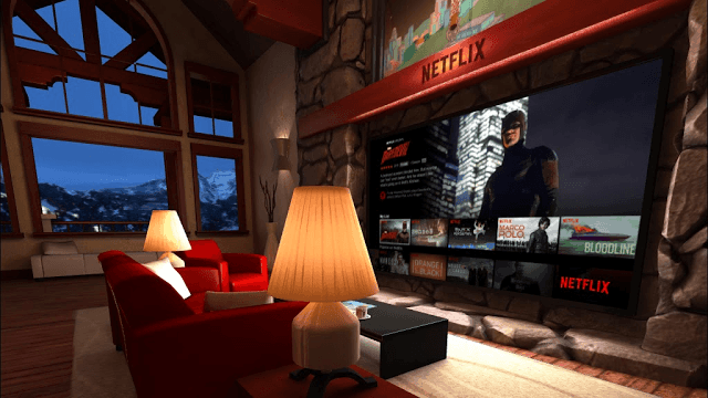 Netflix for Gear VR avaible now!