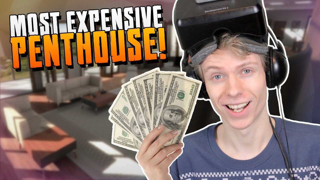 Architecture Demo with the Oculus Rift: DK2 – MOST EXPENSIVE PENTHOUSE!