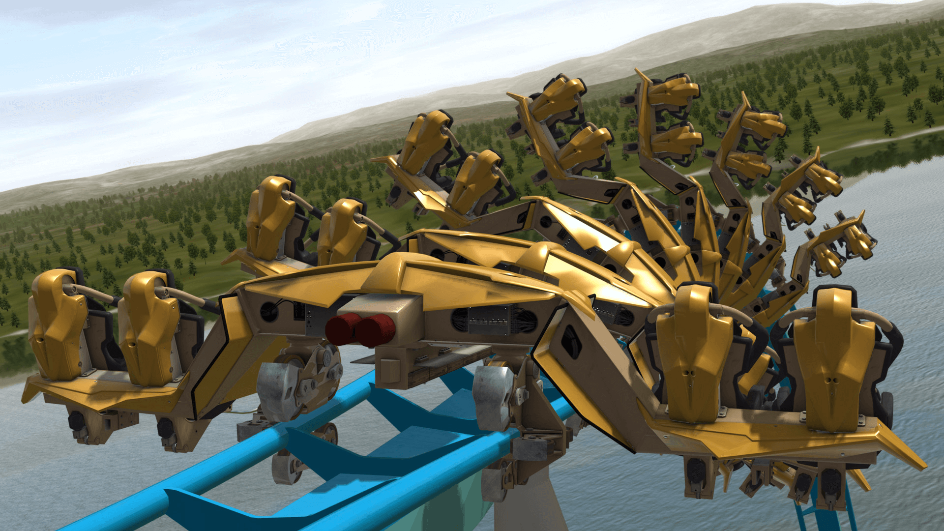 NoLimits 2 Roller Coaster Simulation