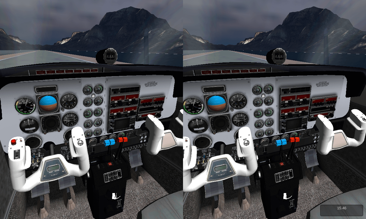 VR Flight Simulator