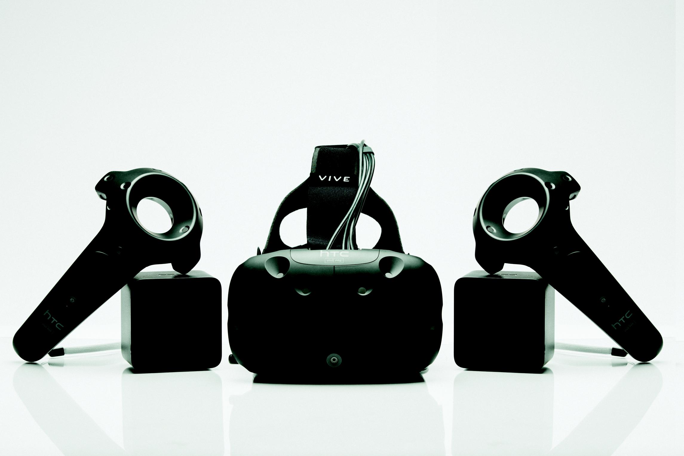 HTC Vive pre aangekondigd
