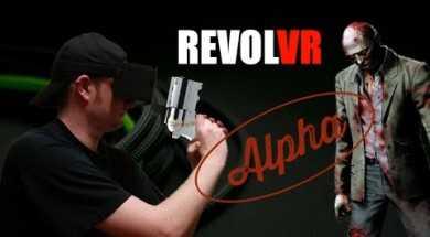 RevolVR Alpha – Virtual Reality Gun Controller
