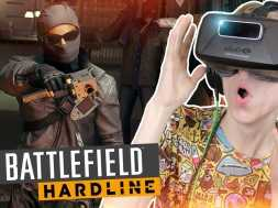 Battlefield: Hardline Campaign (Oculus Rift DK2)