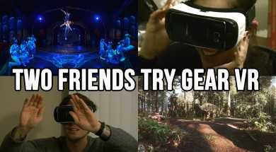 Gear VR: Two Friends Try Gear VR For The First Time