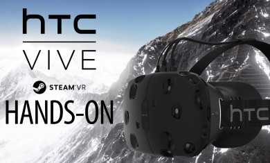 HTC VIVE Gameplay Hands-On – Steam VR – Portal VR, Everest VR & Elite Dangerous