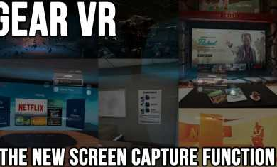 Gear VR: The New Screen Capture Function (And How to Record Audio)