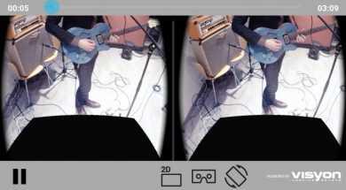 Visyon 360 Cardboard Player2