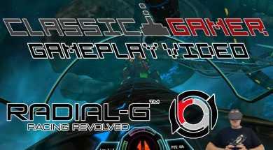 Radial G Racing Revolved, Oculus Rift Gameplay video