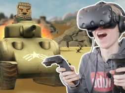 D-DAY IN VIRTUAL REALITY! | Out of Ammo #4 (HTC Vive Gameplay)