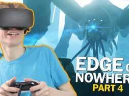 GIANT MONSTER CONFIRMED! | Edge of Nowhere Part 4 (Oculus Rift CV1 Gameplay)