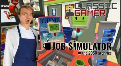 Store Clerks Job Simulator on the HTC Vive