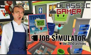 Store Clerks Job Simulator on the HTC Vive