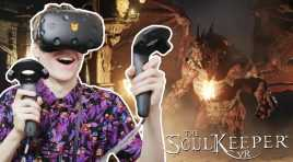 STUNNING RPG GAME IN VIRTUAL REALITY | The Soul Keeper VR (HTC Vive Gameplay)