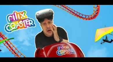 Great Virtual Reality Coaster for Samsung Gear VR Rilix Coaster is Free and super nice