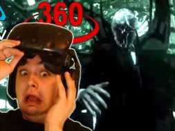 PREPARE FOR NIGHTMARES!! | SLENDER MAN 360 HTC VIVE VR