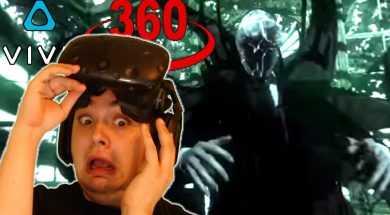 PREPARE FOR NIGHTMARES!! | SLENDER MAN 360 HTC VIVE VR