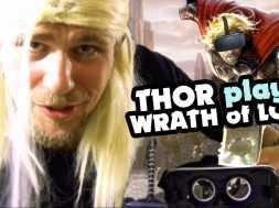 Thor Plays – Wrath Of Loki in the GearVR