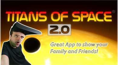 Titans of Space 2 Great virtual reality game for Family and Friends