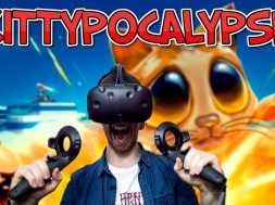 TOWER DEFENSE IN VR! | Kittypocalypse – HTC Vive Gameplay