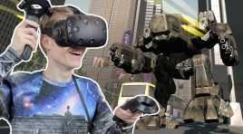 OPEN WORLD VR GAME! | CyberThreat (HTC Vive Gameplay)