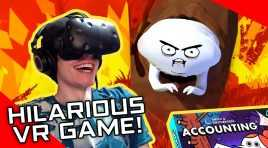 RICK AND MORTY CREATOR'S HILARIOUS VR GAME! \ Accounting by Squanchtendo