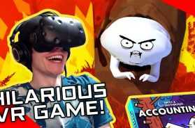 RICK AND MORTY CREATOR'S HILARIOUS VR GAME!  Accounting by Squanchtendo