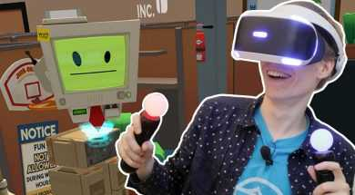 OFFICE WORKER WITH THE PSVR! | Job Simulator (Playstation VR Gameplay)
