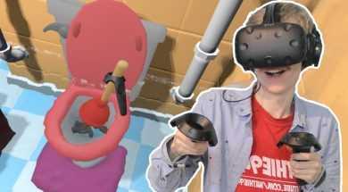 VIRTUAL REALITY PLUMBER SIMULATOR | PipeJob VR (HTC Vive Gameplay)