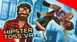 Hipster Toss VR \ Tossing hipsters (before it was cool)
