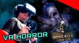 Intense VR Horror Game! \ Ghost Town Mine Ride & Shooting Gallery