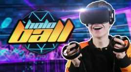 GOING BACK TO THE FUTURE | HoloBall VR (Oculus Touch Gameplay)