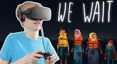 REFUGEE CRISIS IN VIRTUAL REALITY | We Wait VR Animation (Oculus Rift CV1)