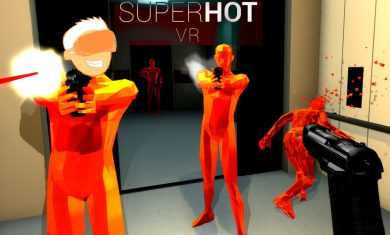 SUPERHOT VR is Absolutely Super Hot on the Oculus Rift With Touch!