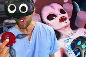 Alien Fidget Spinner!? | Surgeon Simulator VR