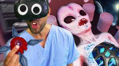 Alien Fidget Spinner!? | Surgeon Simulator VR